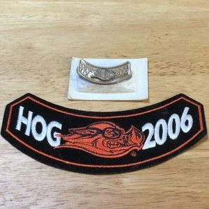 Harley Davidson 2006 HOG pin and patch